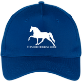Tennessee Walking Horse (Pleasure) with letters CP86 Five Panel Twill Cap