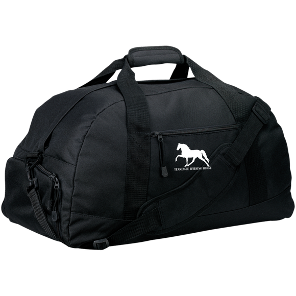 Tennessee Walking Horse (Pleasure) with letters BG980 Basic Large-Sized Duffel Bag