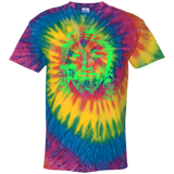 JESUS (lime) CD100Y Youth Tie Dye T-Shirt