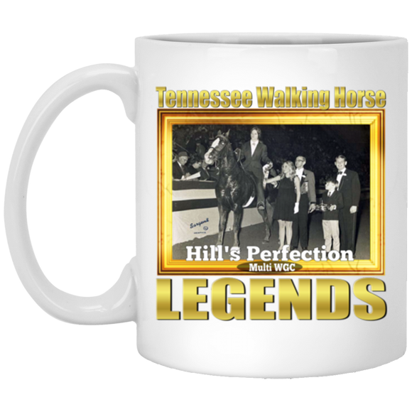 HILLS PERFECTION(Legends Series) XP8434 11 oz. White Mug