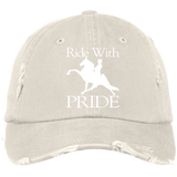 RIDE WITH PRIDE DT600 Distressed Dad Cap