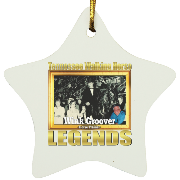 WINK GROOVER (Legends Series) SUBORNS Star Ornament