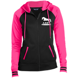 Jump II LST236 Sport-Tek Ladies' Sport-Wick® Full-Zip Hooded Jacket