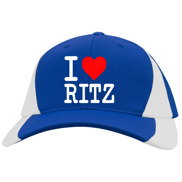 I LOVE RITZ YSTC11 Youth Mid-Profile Colorblock Cap