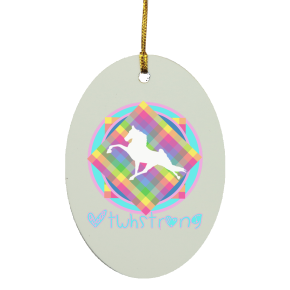 #TWHstrong 3 SUBORNO Oval Ornament