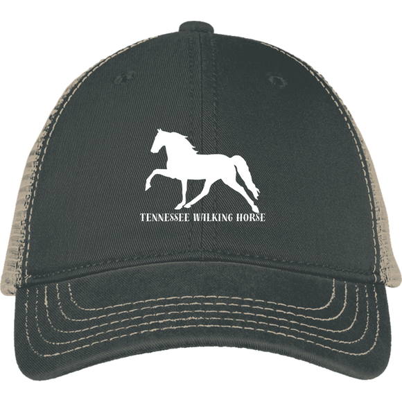 Tennessee Walking Horse (Pleasure) with letters DT630 District Mesh Back Cap