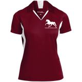 Tennessee Walking Horse (Pleasure) with letters LST655 Sport-Tek Ladies' Colorblock Performance Polo