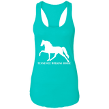 Tennessee Walking Horse (Pleasure) with letters NL1533 Next Level Ladies Ideal Racerback Tank