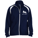 American Saddlebred Design 2 JST90 Sport-Tek Men's Raglan Sleeve Warmup Jacket