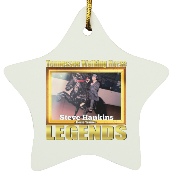STEVE HANKINS (Legends Series) SUBORNS Star Ornament