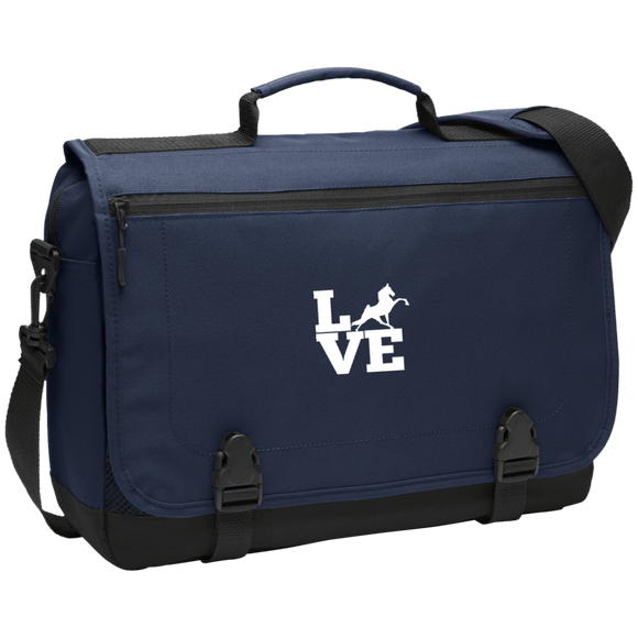 Love (TWH Performance) BG304 Messenger Briefcase