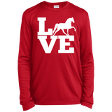 Love (TWH Pleasure) YST350LS Youth Long Sleeve Moisture-Wicking T-Shirt
