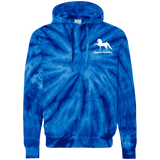American Saddlebred Design 2 CD877 Tie-Dyed Pullover Hoodie