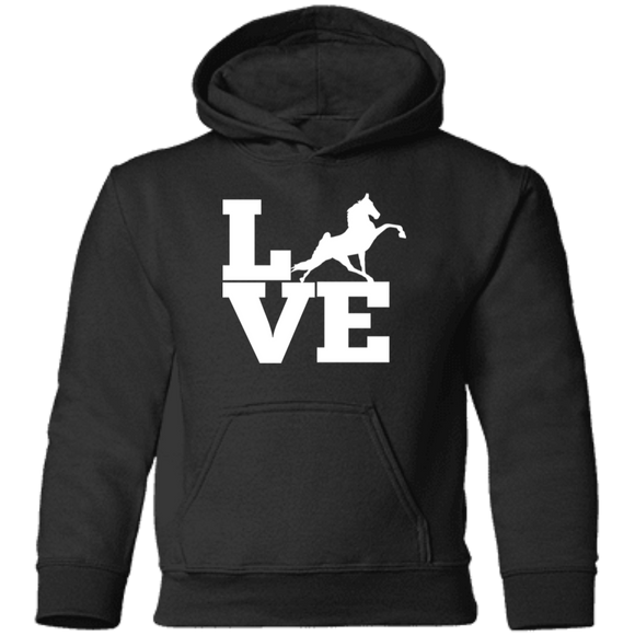 Love (TWH Performance) CAR78TH Toddler Pullover Hoodie