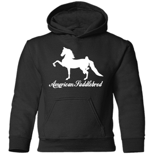 American Saddlebred Design 2 CAR78TH Toddler Pullover Hoodie