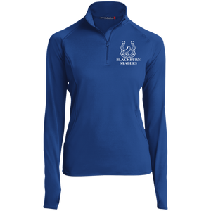 BLACKBURN STABLES (WHITE) - Copy LST850 Women's 1/2 Zip Performance Pullover