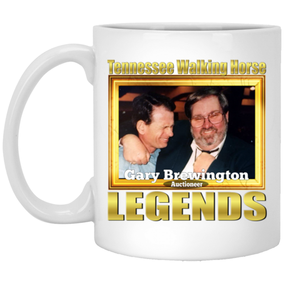 GARY BREWINGTON(Legends Series) XP8434 11 oz. White Mug