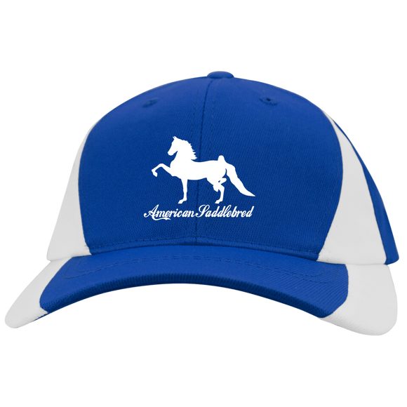 American Saddlebred Design 2 YSTC11 Youth Mid-Profile Colorblock Cap