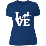 Love (Saddlebred) - Copy NL3900 Ladies' Boyfriend T-Shirt