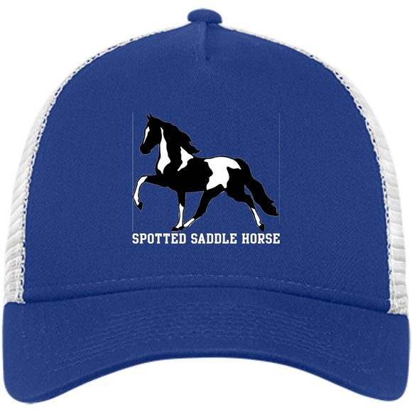 SPOTTED SADDLE HORSE NE205 Snapback Trucker Cap