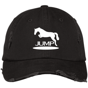 Jump II DT600 Distressed Dad Cap