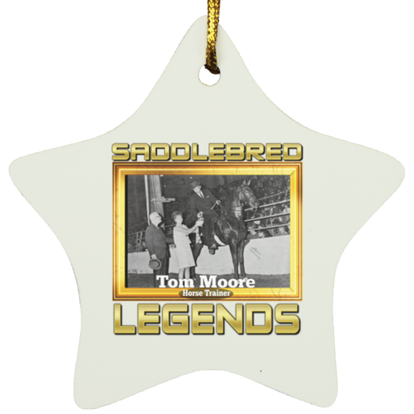 TOM MOORE (Legends Series) SUBORNS Star Ornament
