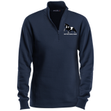 SPOTTED SADDLE HORSE LST253 Ladies' 1/4 Zip Sweatshirt