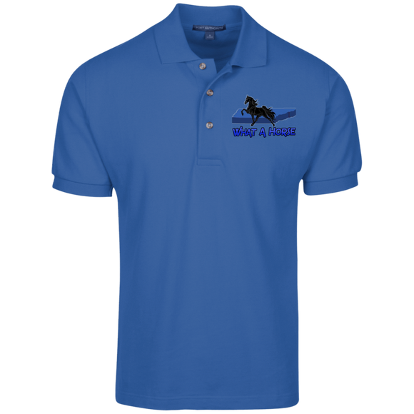 What A Horse 2020 K420 Cotton Pique Knit Polo