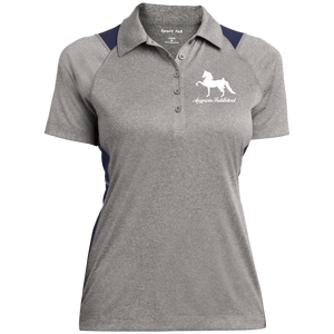 American Saddlebred Design 2 LST665 Sport-Tek Ladies' Heather Moisture Wicking Polo