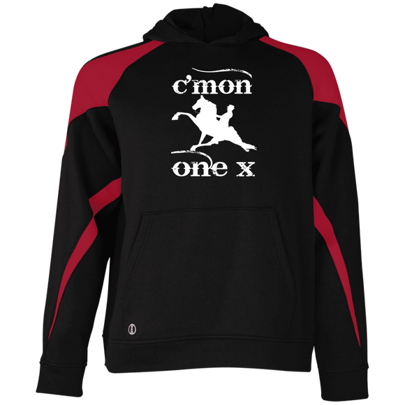 Cmon One X 229646 Holloway Youth Colorblock Hoodie