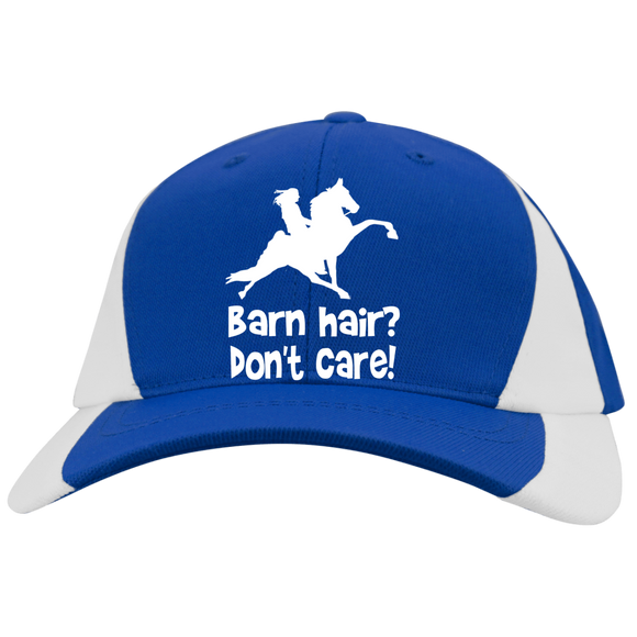 BARN HAIR, DONT CARE (TWH PERFORMANCE) YSTC11 Youth Mid-Profile Colorblock Cap