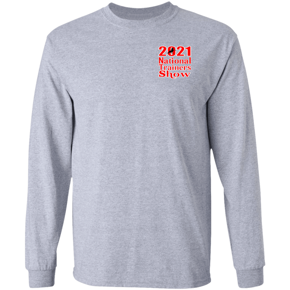 2021 TRAINERS SHOW  Long Sleeve Ultra Cotton T-Shirt