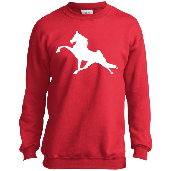 Tennessee Walking Horse (Performance) PC90Y Port and Co. Youth Crewneck Sweatshirt