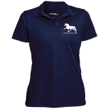 Tennessee Walking Horse (Pleasure) with letters LST650 Sport-Tek Women's Micropique Tag-Free Flat-Knit Collar Polo