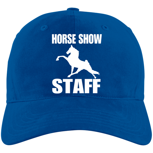Horse Show Staff A12 Unstructured Cresting Cap