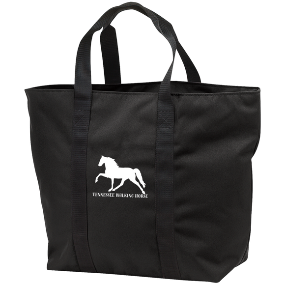 Tennessee Walking Horse (Pleasure) with letters B5000 All Purpose Tote Bag