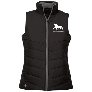 Tennessee Walking Horse (Pleasure) with letters 229314 Holloway Ladies' Quilted Vest
