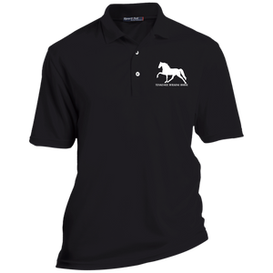Tennessee Walking Horse (Pleasure) with letters TK469 Sport-Tek Tall Dri-Mesh Short Sleeve Polo