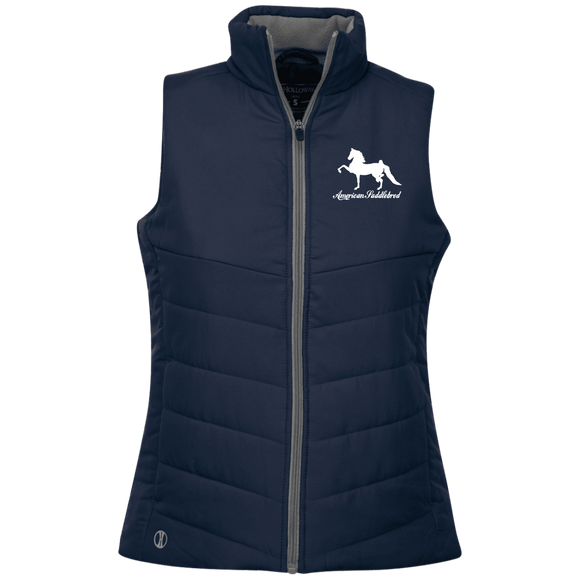 American Saddlebred Design 2 229314 Holloway Ladies' Quilted Vest