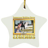 RONALD MOSLEY (Legends Series) SUBORNS Star Ornament