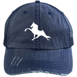 Tennessee Walking Horse (Performance) 6990 Distressed Unstructured Trucker Cap