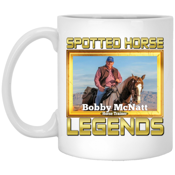 BOBBY MCNATT(Legends Series) XP8434 11 oz. White Mug