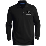 SPOTTED SADDLE HORSE K8000LS Men's EZCotton™ LS Polo
