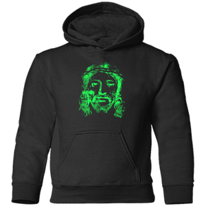 JESUS (lime) CAR78TH Toddler Pullover Hoodie