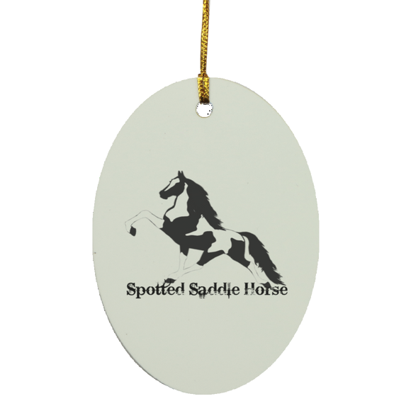 SPOTTED SADDLE WINE 2020 SUBORNO Oval Ornament