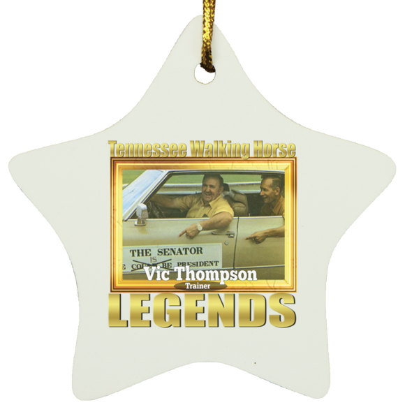 VIC THOMPSON (Legends Series) SUBORNS Star Ornament