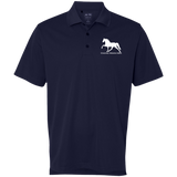 Tennessee Walking Horse (Pleasure) with letters A130 Adidas Golf ClimaLite Basic Performance Pique Polo