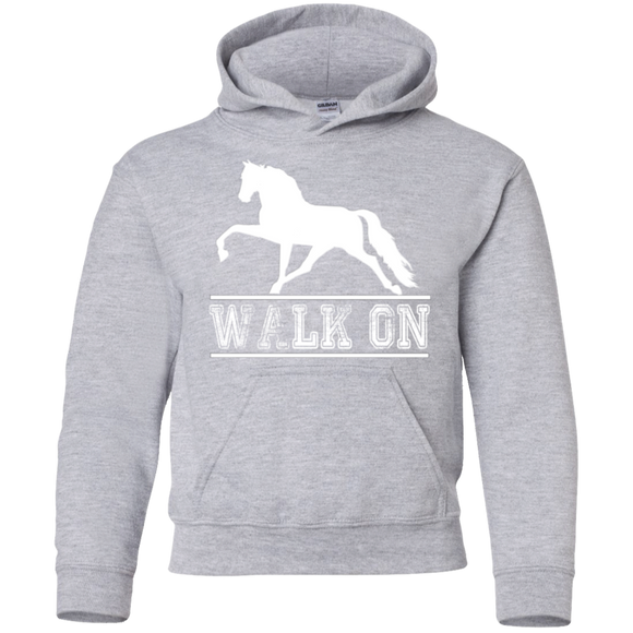 Walk On TWH Pleasure G185B Gildan Youth Pullover Hoodie