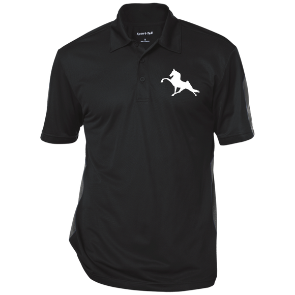 Tennessee Walking Horse (Performance) ST695 Sport-Tek Performance Textured Three-Button Polo