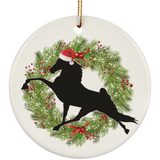 TWH Performance Christmas SUBORNC Ceramic Circle Ornament